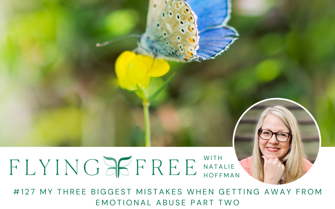 My Three Biggest Mistakes When Getting Away From Emotional Abuse Part Two