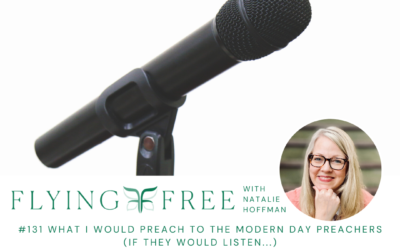 What I Would Preach to the Modern Day Preachers (if they would listen…)