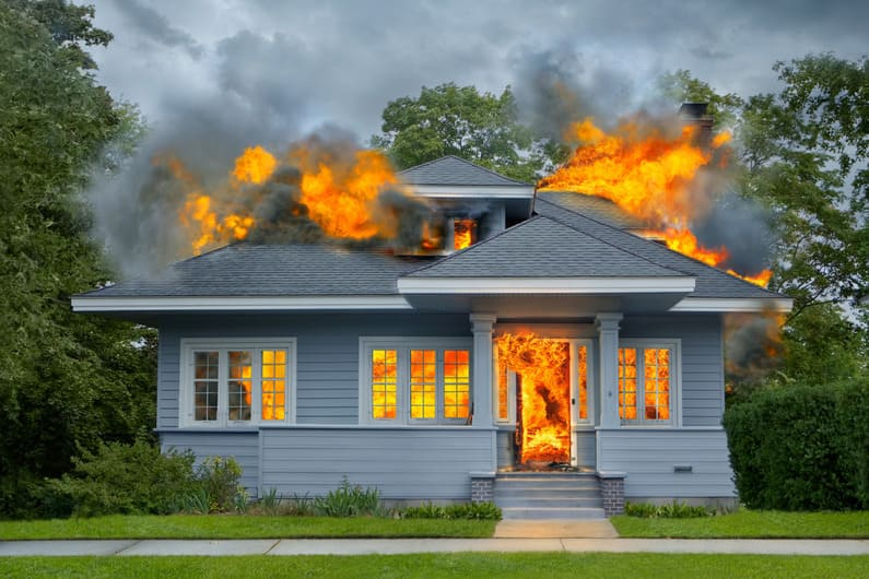 Who Burned the House Down?