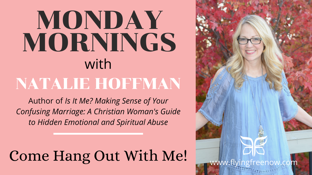 Come hang out with me on Monday mornings!